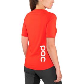 POC Essential MTB Maglia a maniche corte Donna, prismane red